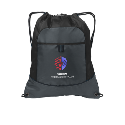 Port Authority® Pocket Cinch Pack - Cyber Security Club