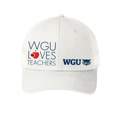 Port Authority® Snapback Trucker Cap - WGU Loves Teachers