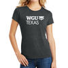 District Made® Ladies Perfect Tri® Crew Tee - Texas
