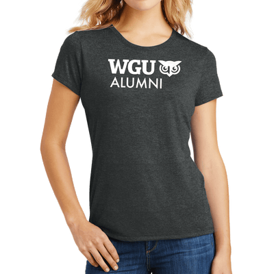 District Made® Ladies Perfect Tri® Crew Tee - Alumni