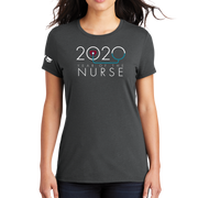 2020 Year Of The Nurse District Made® Ladies Perfect Tri® Crew Tee
