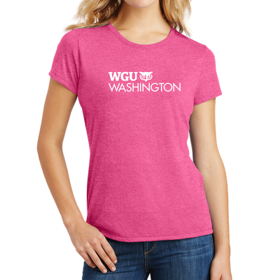 District Made® Ladies Perfect Tri® Crew Tee - Washington