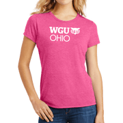 District Made® Ladies Perfect Tri® Crew Tee - Ohio