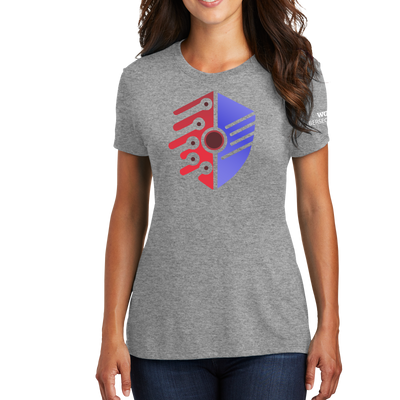 District Made® Ladies Perfect Tri® Crew Tee - Cyber Security Club