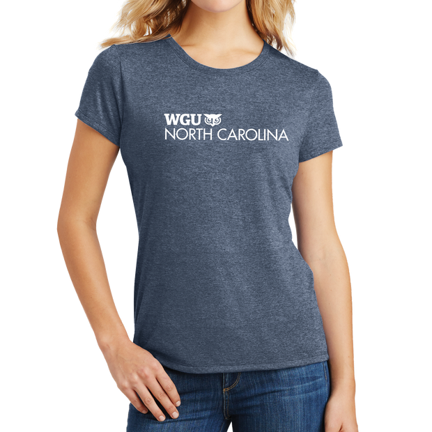 District Made® Ladies Perfect Tri® Crew Tee - North Carolina