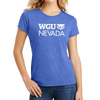 District Made® Ladies Perfect Tri® Crew Tee - Nevada