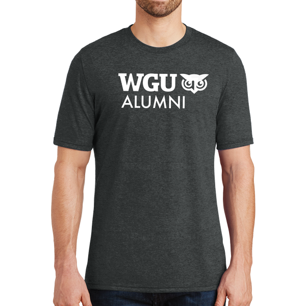 District® - Young Mens Tri-Blend Crew Neck Tee - Alumni