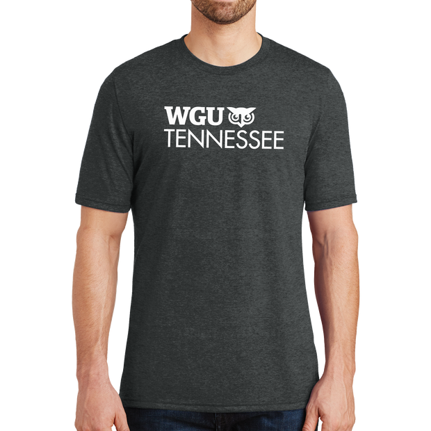 District® - Young Mens Tri-Blend Crew Neck Tee - Tennessee