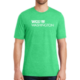 District® - Young Mens Tri-Blend Crew Neck Tee - Washington