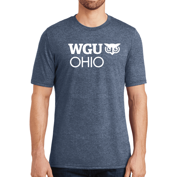District® - Young Mens Tri-Blend Crew Neck Tee - Ohio