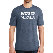 District® - Young Mens Tri-Blend Crew Neck Tee - Nevada
