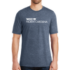 District® - Young Mens Tri-Blend Crew Neck Tee - North Carolina
