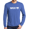 District Made® Mens Perfect Tri® Long Sleeve Crew Tee
