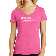 District Made® Ladies Perfect Tri® V-Neck Tee - Washington