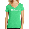 District Made® Ladies Perfect Tri® V-Neck Tee - North Carolina