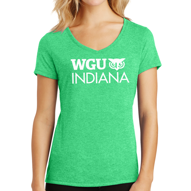 District Made® Ladies Perfect Tri® V-Neck Tee - Indiana