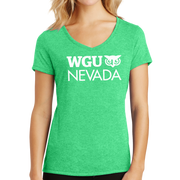 District Made® Ladies Perfect Tri® V-Neck Tee - Nevada