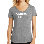 District Made® Ladies Perfect Tri® V-Neck Tee - Ohio