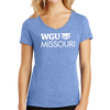 District Made® Ladies Perfect Tri® V-Neck Tee - Missouri
