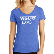 District Made® Ladies Perfect Tri® V-Neck Tee - Texas