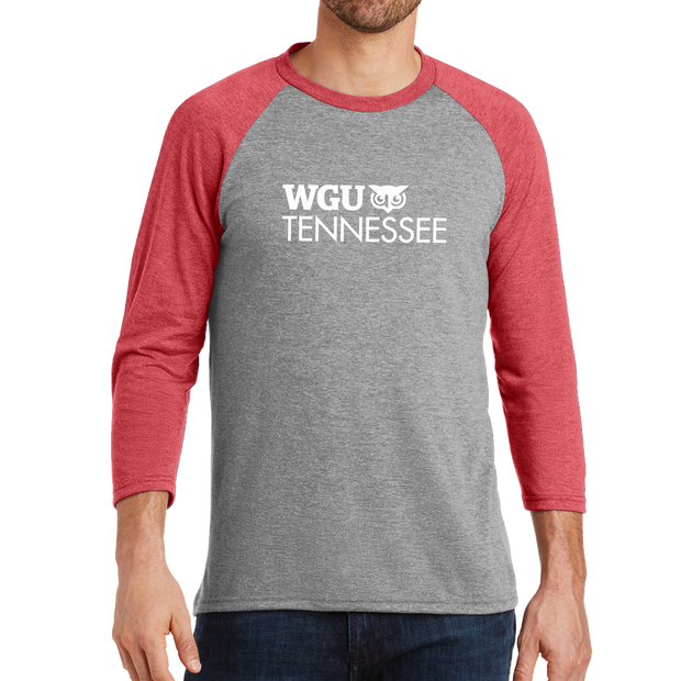 District Made® Mens Perfect Tri® 3/4-Sleeve Raglan - Tennessee