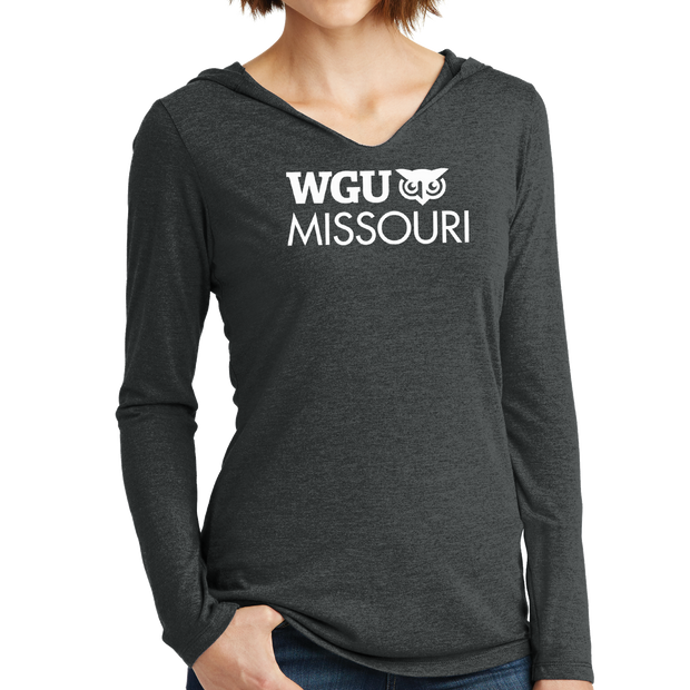 District Made® Ladies Perfect Tri® Long Sleeve Hoodie - Missouri