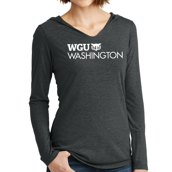 District Made® Ladies Perfect Tri® Long Sleeve Hoodie - Washington