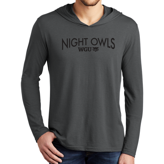 District Perfect Tri  Long Sleeve Hoodie- Night Owl