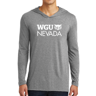 District Made® Mens Perfect Tri® Long Sleeve Hoodie - Nevada