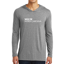 District Made Mens Perfect Tri Long Sleeve Hoodie - North Carolina