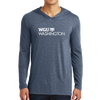 District Made® Mens Perfect Tri® Long Sleeve Hoodie - Washington
