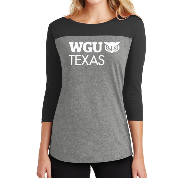 District® - Juniors Rally 3/4-Sleeve Tee - Texas
