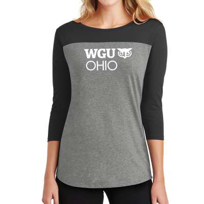 District ® Women's Rally 3/4-Sleeve Tee - Ohio