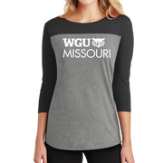 District ® Women's Rally 3/4-Sleeve Tee - Missouri