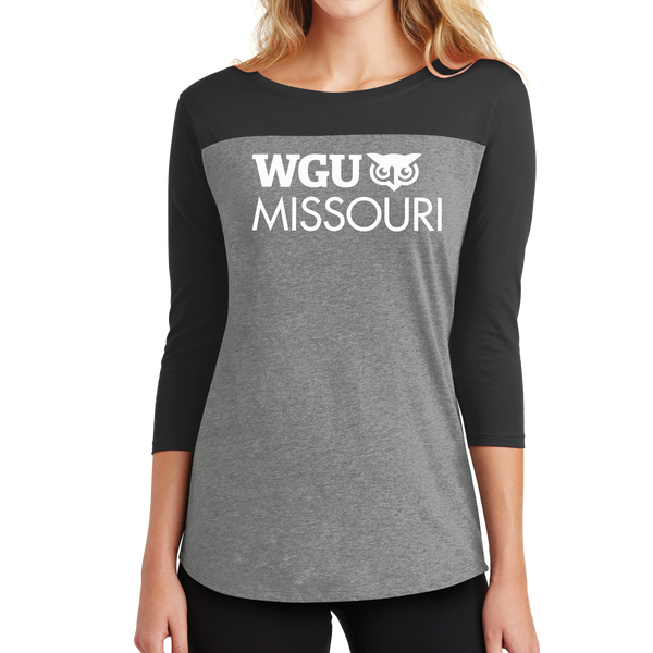 District® - Juniors Rally 3/4-Sleeve Tee - Missouri