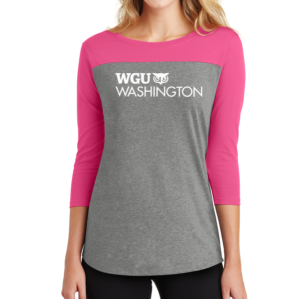 District® - Juniors Rally 3/4-Sleeve Tee - Washington