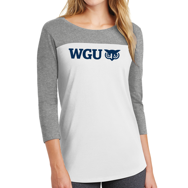 District ® Women's Rally 3/4-Sleeve Tee