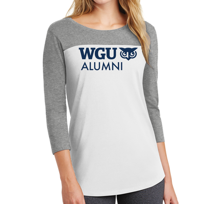 District ® Women's Rally 3/4-Sleeve Tee - Alumni