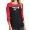 District® - Juniors Rally 3/4-Sleeve Tee - Ohio