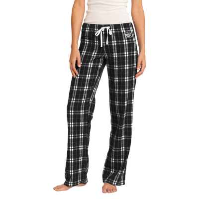 District Women's Flannel Plaid Pant - Night Owl