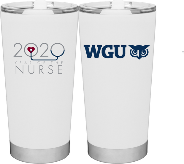 Frost Tumbler-Year Of The Nurse, 20 oz double wall stainless steel