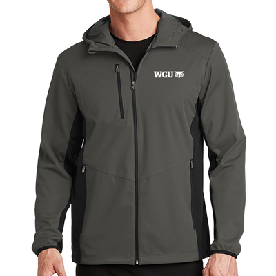 Port Authority® Active Hooded Soft Shell Jacket - WGU Clearance
