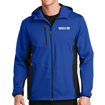 Port Authority® Active Hooded Soft Shell Jacket