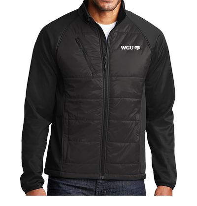 Port Authority® Hybrid Soft Shell Jacket - WGU Clearance