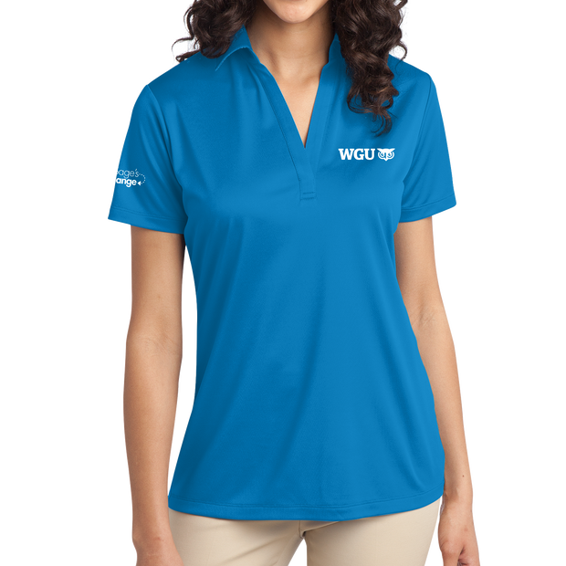 Port Authority® Ladies Silk Touch™ Performance Polo- Sage's Exchange