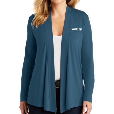 Port Authority® Ladies Concept Knit Cardigan