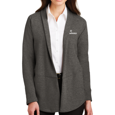 Port Authority® Ladies Interlock Cardigan - WGU Academy