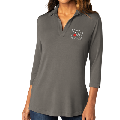 Port Authority ® Ladies Luxe Knit Tunic - WGU Loves Teachers