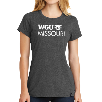 New Era® Ladies Heritage Blend Crew Tee - Missouri