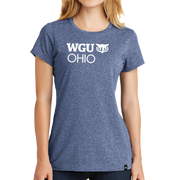 New Era® Ladies Heritage Blend Crew Tee - Ohio